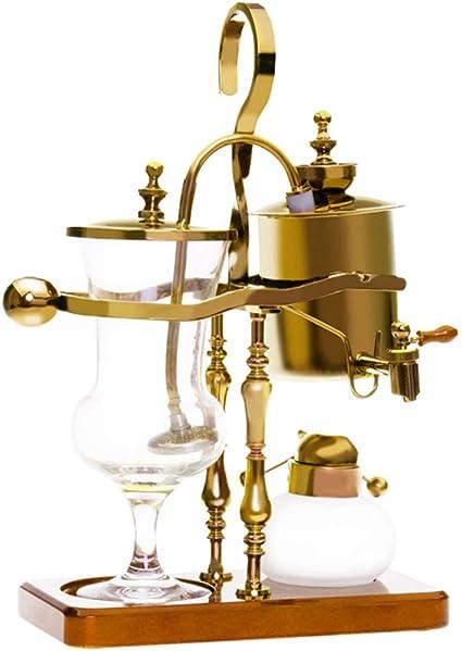 Sifónico Cafetera Termostato Royal Belga Juego de ollas para el ...