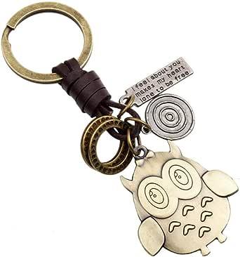Cartoon owl,key chain,accessories.SDSO003