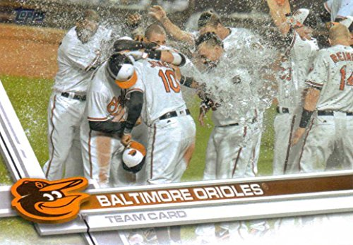 Baltimore Orioles 2017 Topps Complete Mint Hand Collated Team Set with Manny Machado Plus