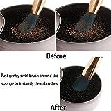 StyleZ 2 Pack Cleaner Sponge, Dry Makeup Brushes