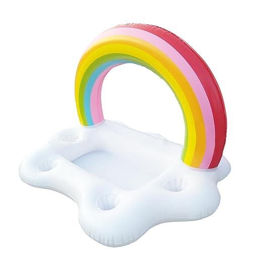 schwimmendes Balsa, hinchable arco iris schwimmendes Balsa ...