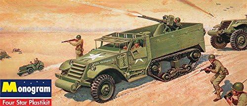 アメリカレベル 1/35 SSP 装甲ハーフトラック 00034 プラモデル