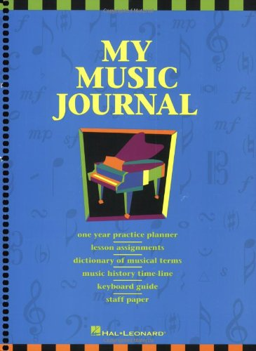 My Music Journal - Student Assignment Book: Hal Leonard Student Piano Library (Piano Practice Music)