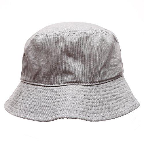 MIRMARU Summer Cotton Stone Washed Packable Outdoor Activities Fishing Bucket Hat.
