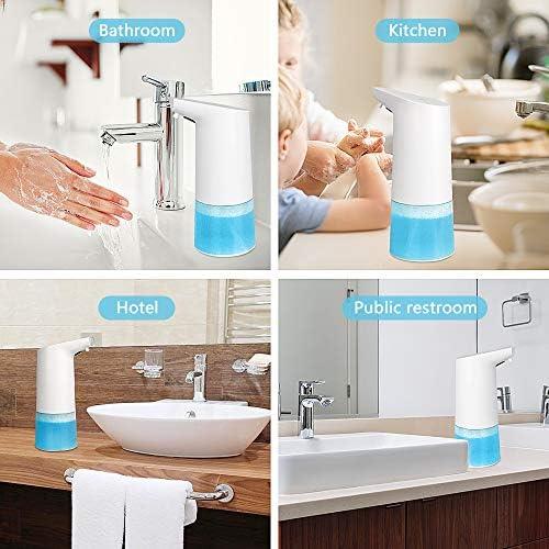 350 ml Dispensador de jab/ón autom/ático Lemnoi con sensor inteligente para cuarto de ba/ño y cocina