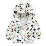ESHOO Children Boy Girl Zipper Hoodie Sweatshirt Jacket Coat Outerwear