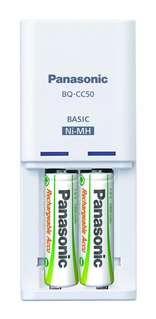 Panasonic Pilas Recargables BQCC50 con Cargador: Amazon.es ...