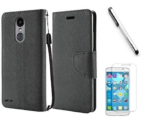 new styles 7c1b1 4d66e ZTE Grand X4 Z956 Case, ZTE Blade Spark Case, Luckiefind® Premium PU  Leather Flip Wallet Credit Card Cover Case, Stylus Pen, Screen Protector ...