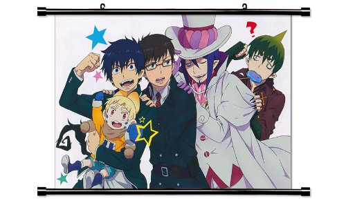 (Blue Exorcist Anime Fabric Wall Scroll Poster (32 x 22) Inches. [WP]BlueExorcist-30)
