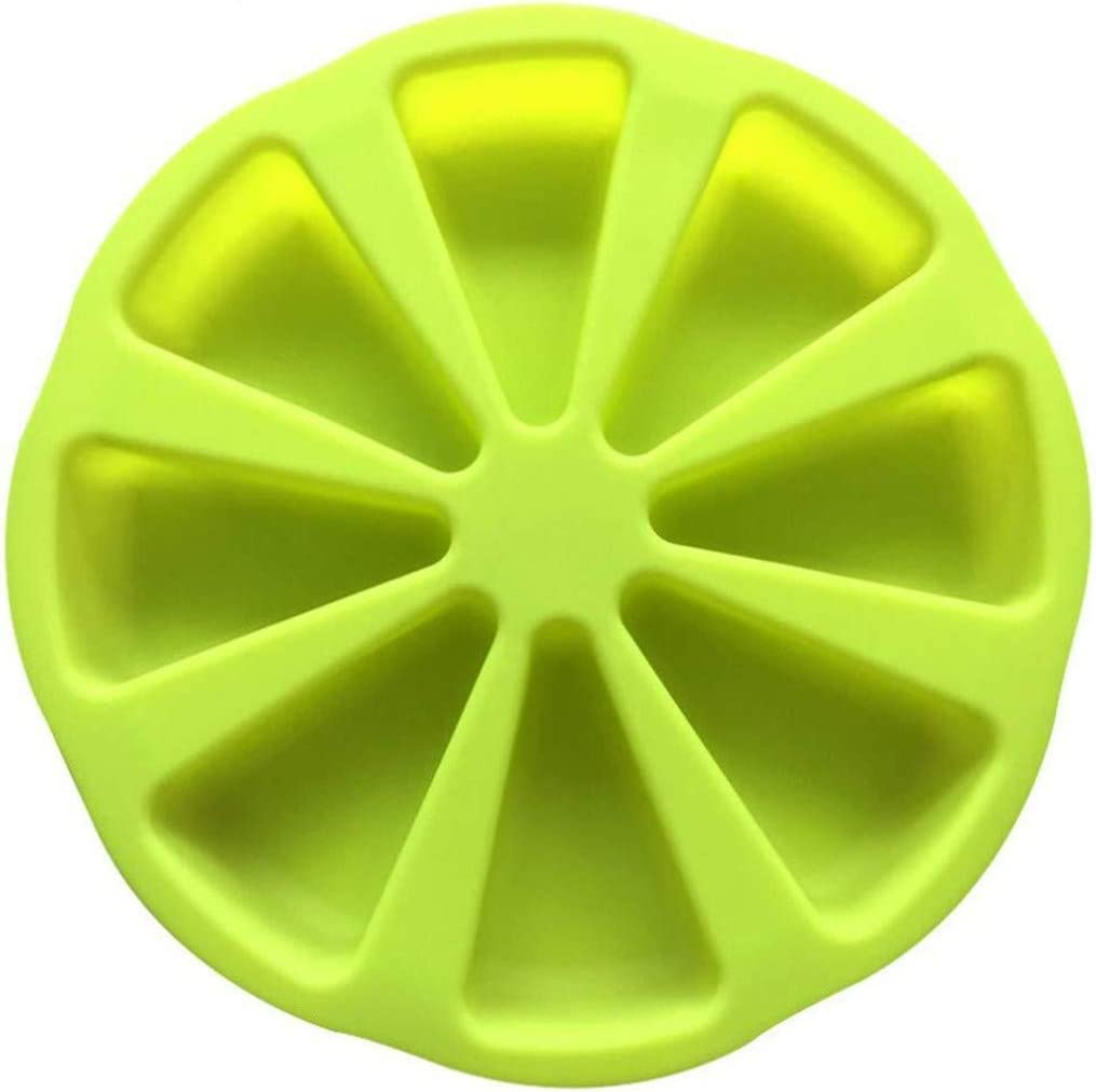 Simplylin Cake Mould Silicone Tool Kitchen Baking DIY Kitchen Accessories,Silicone Bakeware Baking Food Mold 8 Points Scone Cake Home Used in Microwave (Green)