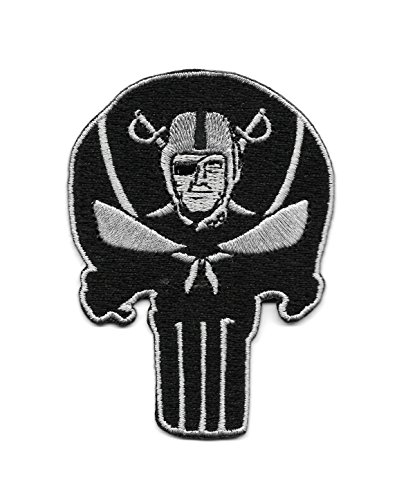 691852991006 upc raiders punisher skull embroidered. Black Bedroom Furniture Sets. Home Design Ideas