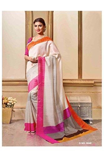 Women For White Ethnic Partywear Sari Da Designer Wedding Saree Indian 228 Facioun Off Traditional 4t7wqI6