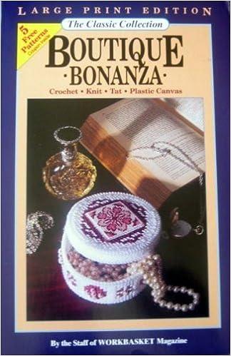 Boutique Bonanzacrochet Knit Tat Plastic Canvas The Classic
