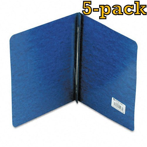 ACCO Pressboard Report Cover, Letter, 5 pack (Dark Blue)