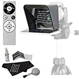 Parrot Teleprompter Version 2 Portable Teleprompter for Smartphone, Genuine Parrot PT Teleprompter Remote with Bluetooth Wireless and Cleaning Kit