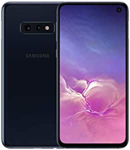 Samsung Galaxy S10e 128GB SM-G970F/DS Hybrid/Dual-SIM (GSM Only, No CDMA) Factory Unlocked 4G/LTE Smartphone - International Version No Warranty (Prism Black)