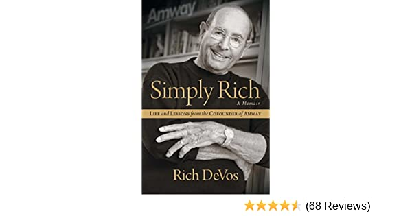 Amazon simply rich life and lessons from the cofounder of amazon simply rich life and lessons from the cofounder of amway a memoir ebook rich devos kindle store fandeluxe Choice Image