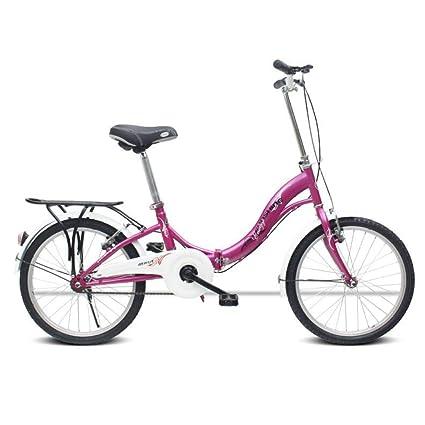 Amazon.com: AOHMG Bicicletas Plegables para Adultos Ligero ...