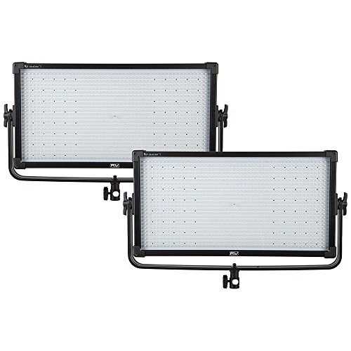 F&V Z1200S UltraColor Bi-color LED Studio Panel | 2-light Kit (V-mount)