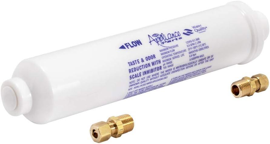 EZ-FLO 60458N Ice Maker Inline Water Filter