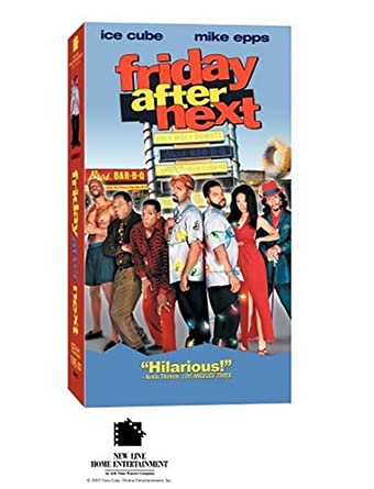 amazon com friday after next vhs ice cube mike epps john