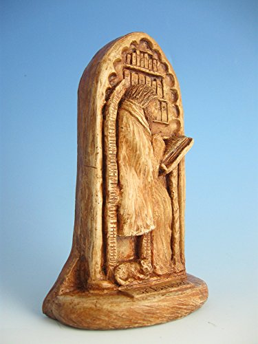 St. Isidore of Seville: Patron of Internet Technology Professionals, Scholars, Scientists; Handmade Statue by In the Company of Saints (Image #2)