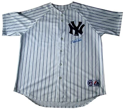 Derek Jeter Signed Yankees Jersey-Replica at Amazon s Sports ... 4dc24e3e8d2