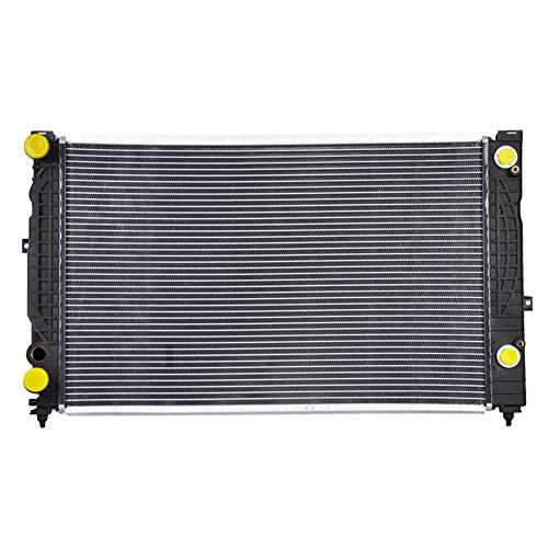 JSD B004A A/T at Radiator for Audi A4 & Quattro Volkswagen Passat 1.8 2.0L L4 4Cyl Ref# CU2034 (Auto Trans) Audi A4 Radiator Replacement