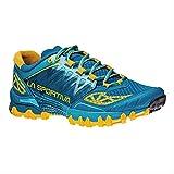 La Sportiva Women's Bushido Trail Running Shoe, Fjord, 39.5 M EU