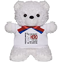 CafePress - Bravest Hero I Knew Mesothelioma - Teddy Bear, Plush Stuffed Animal