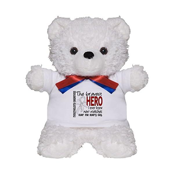 CafePress-Bravest-Hero-I-Knew-Mesothelioma-Teddy-Bear-Plush-Stuffed-Animal