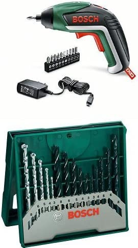 Bosch IXO - Atornillador a batería IXO Basic + Pack con 15 brocas ...