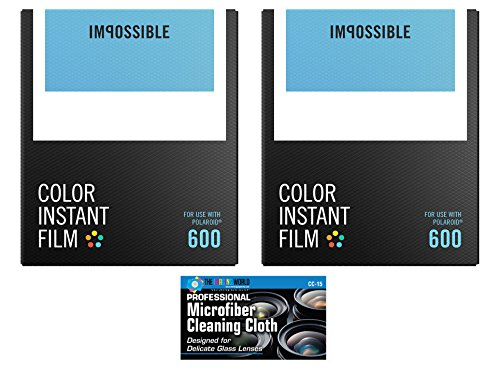 Impossible Instant Color Film for Polaroid 600 Cameras – 2 Pack