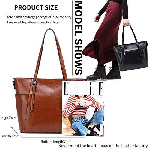 Unis En En à à Bandoulière Et Sac Brun Grand Sacs Sac Sac à Sac Les HJLY Europe Dames 2018 Cuir Leather Main Nouveaux Provisions États D'épaule Cuir 1nTYTq