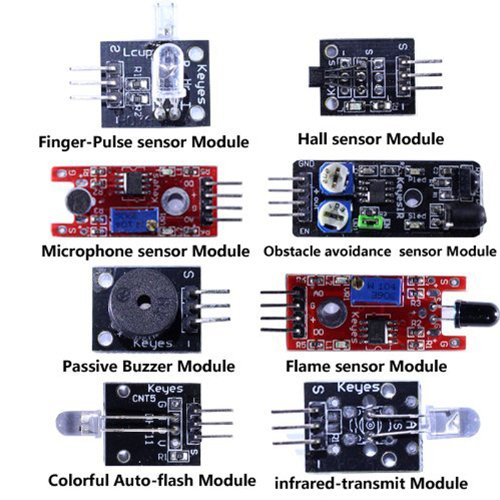 Diy maker ultimate in sensor modules learning package