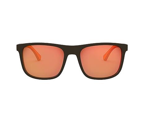 Amazon.com: Gafas de sol Emporio Armani EA 4129 5752F6 MATTE ...