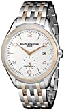 Baume & Mercier Men's BMMOA10140 Clifton Analog Display Swiss Automatic Two Tone Watch