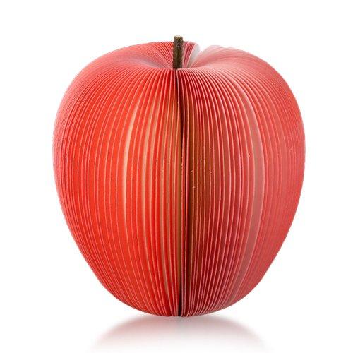 Haftnotizen Notis Notizzettel Zettel Notizblöcke 140 Blatt Rot Apfel Obst
