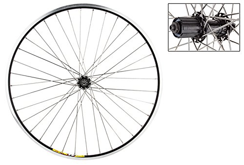 Wheel Master Weinmann 700C Rear Wheel, Quick Release, 36H, Black ()