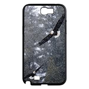 Bald Eagle Personalized Cover Case for Samsung Galaxy Note 2 N7100,customized phone case ygtg578339