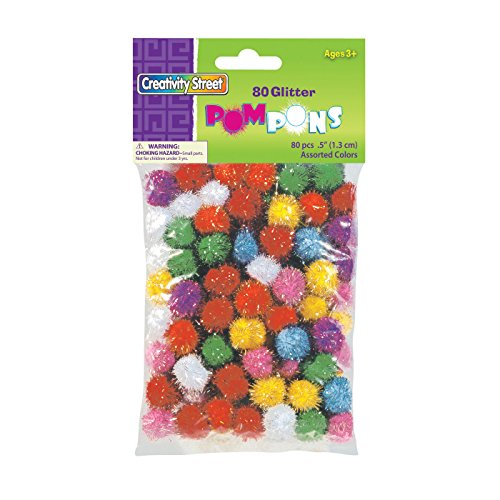 Creativity Street Glitter 80 Piece Assorted product image