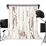 Kate 10x10ft White Wood Backdrop Wood Photo Backdrop Portrait Photography Vintage Wood Barn Photography Background Photography Studio Props for Photographer Kids Children Adults