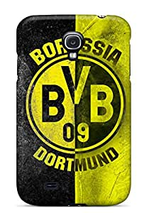 New Premium Flip Case Cover Borussia Dortmund Fc Logo Skin Case For Galaxy S4