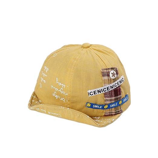 Gorra de Béisbol Suave para Bebés de Algodón Sombrero de Tamaño ...