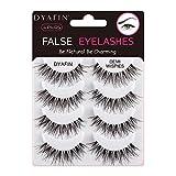 DYAFIN Eyelashes Handmade False Eyelashes Lightweight Natural Fake Eyelashes Pack Professional False Lashes (4 Pair, DF WSP)