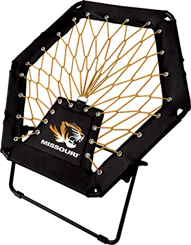 Imperial Officially Licensed NCAA Furniture: Basic Bungee Chair, Missouri Tigers