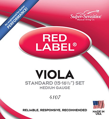 Super Sensitive 4107 Label Standard Strings product image