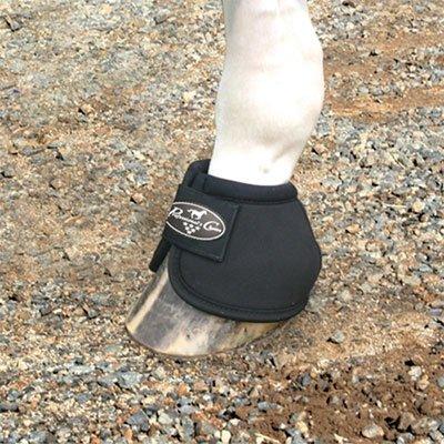 Professionals Choice Equine Ballistic Hoof Overreach Bell Boot, Pair (Large, - Horse Equipment