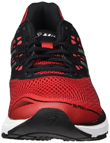 Gel Red Rouge 2393 Pulse de Black Silver Homme Noir Classic 9 Asics Chaussures Running RdxwSR8v
