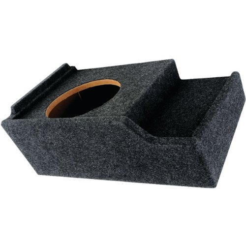 Atrend A151-12CP Subwoofer Box B Box Series 12 Single Down-Fire for GM Vehicles Car -